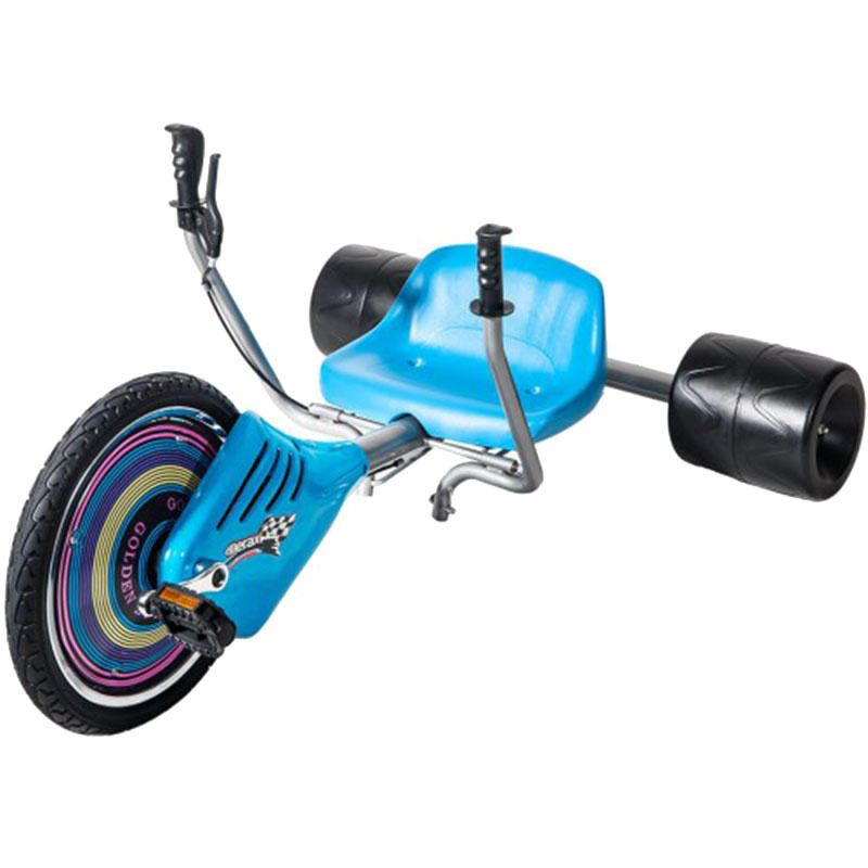 Children's Drift Trike Big Wheel Machine Bike with Sturdy Steel Frame