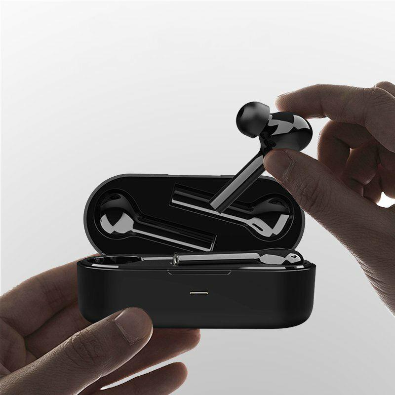[bluetooth 5.0] JS18 TWS Wireless Stereo Freebud Earphone Graphene Driver Noise Cancelling Smart Touch Binaural Call Headphone for Xiaomi Huawei