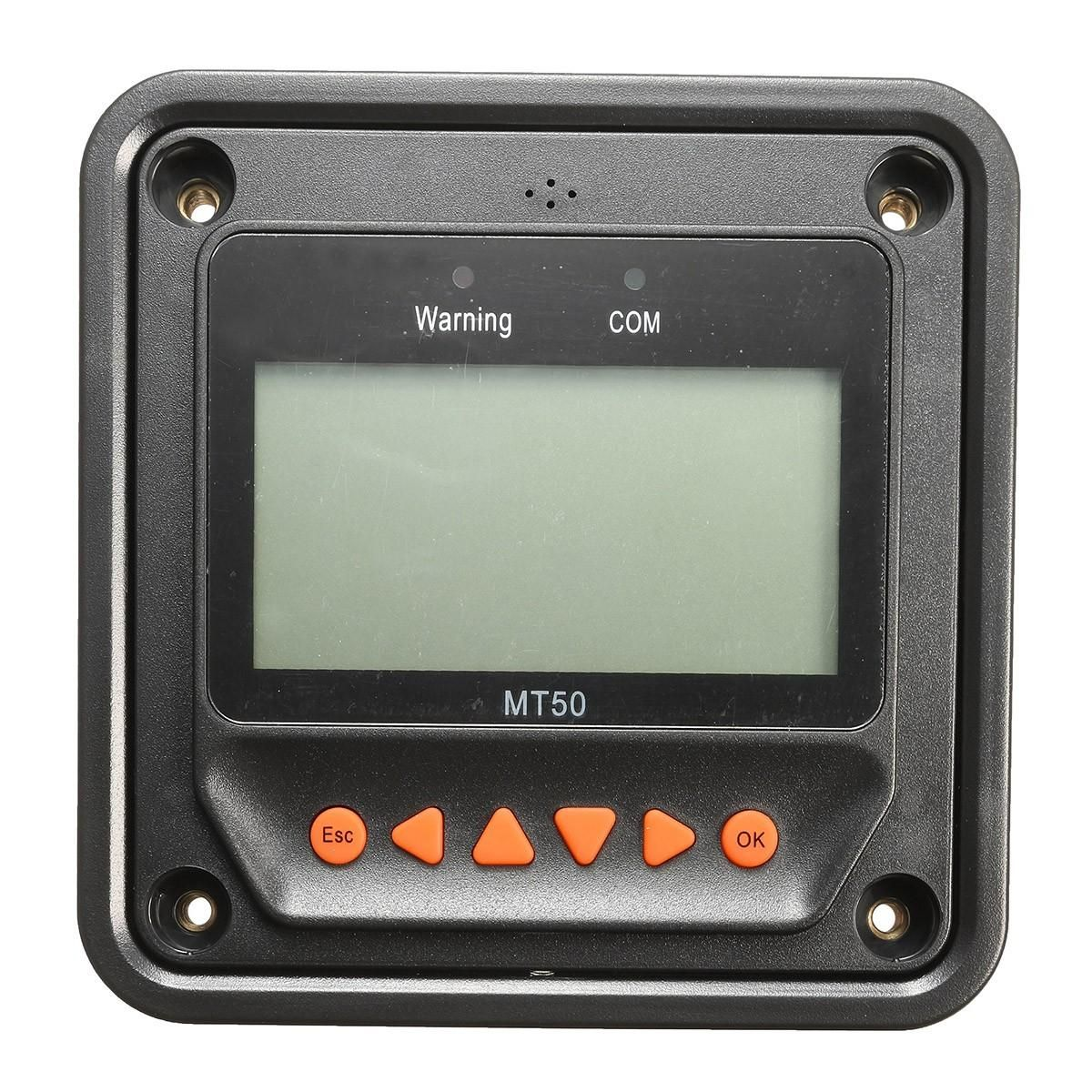 EPEVER MT50 Black Remote Meter LCD Diaplay For Solar Charge Controller Regulator