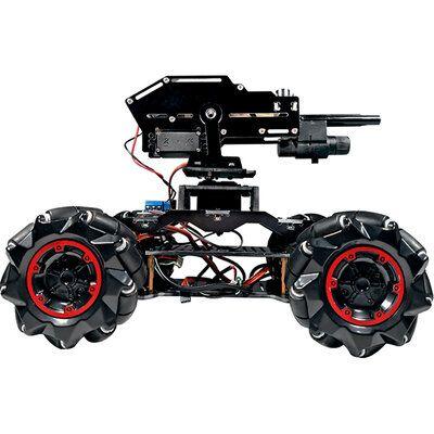 YOUFUN DIY Smart Robot Car Programmable Bluetooth APP Control Water Ball Shooting Robot Car With Omni Wheels
