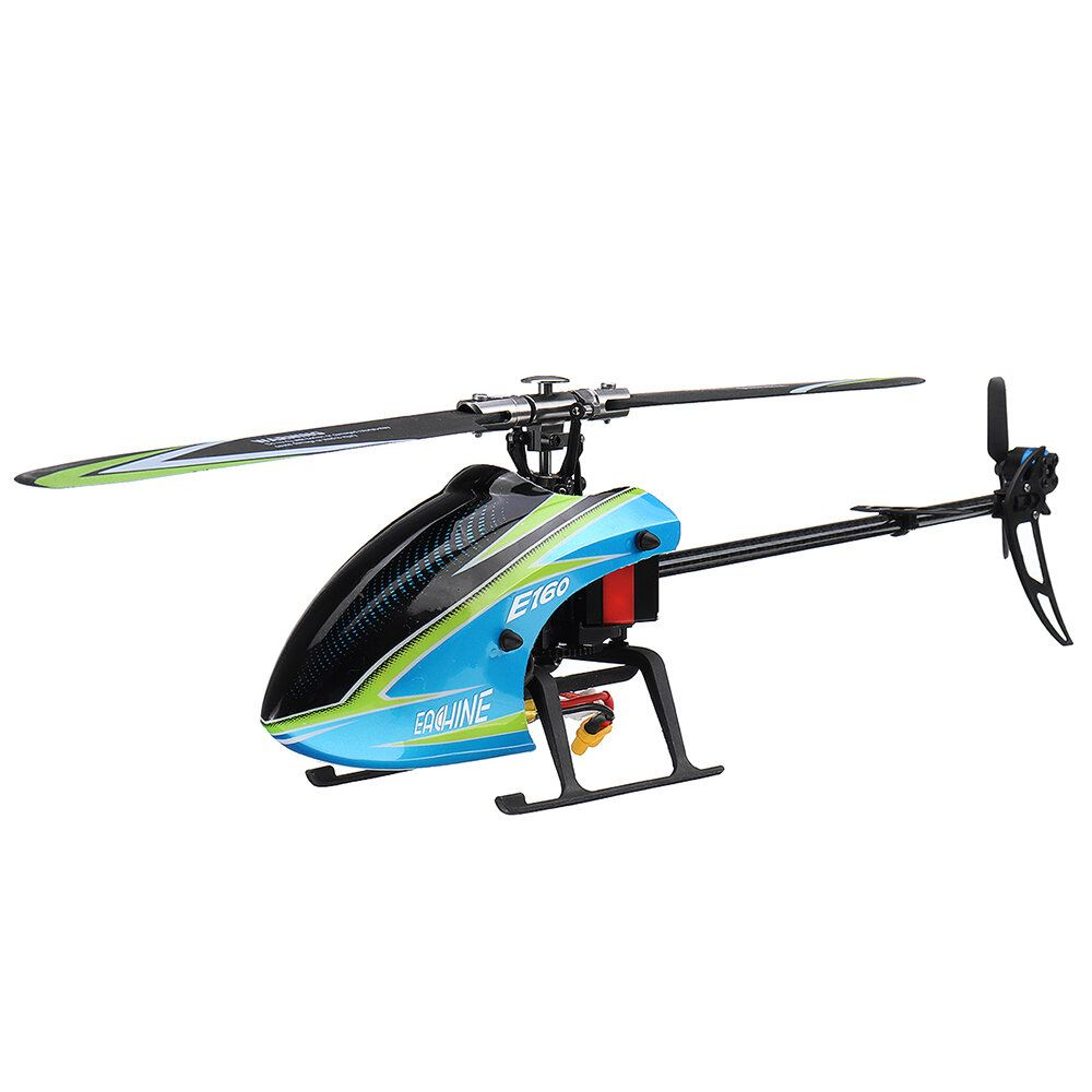 Eachine E160 6CH Brushless 3D6G System Flybarless RC Helicopter BNF Compatible with FUTABA' S FHSS