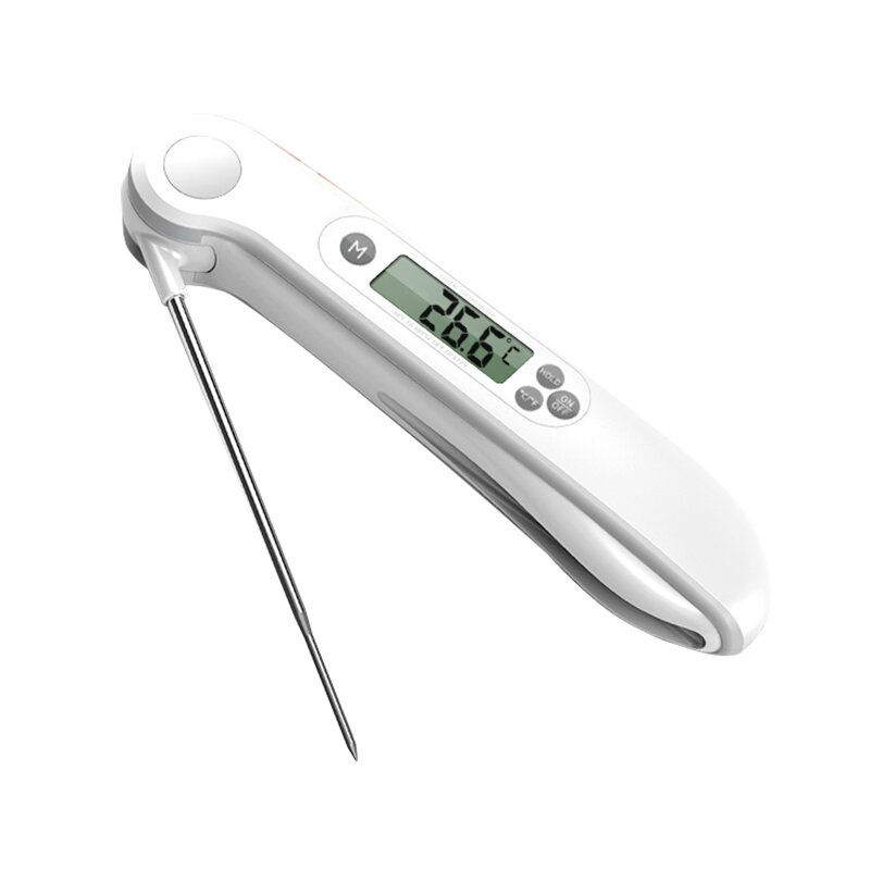 DEL US$9.82 Minleaf ML-CT2 Kitchen Food Thermometer ±1°C Baby Milk Thermometer Backlight Display BBQ Thermometer