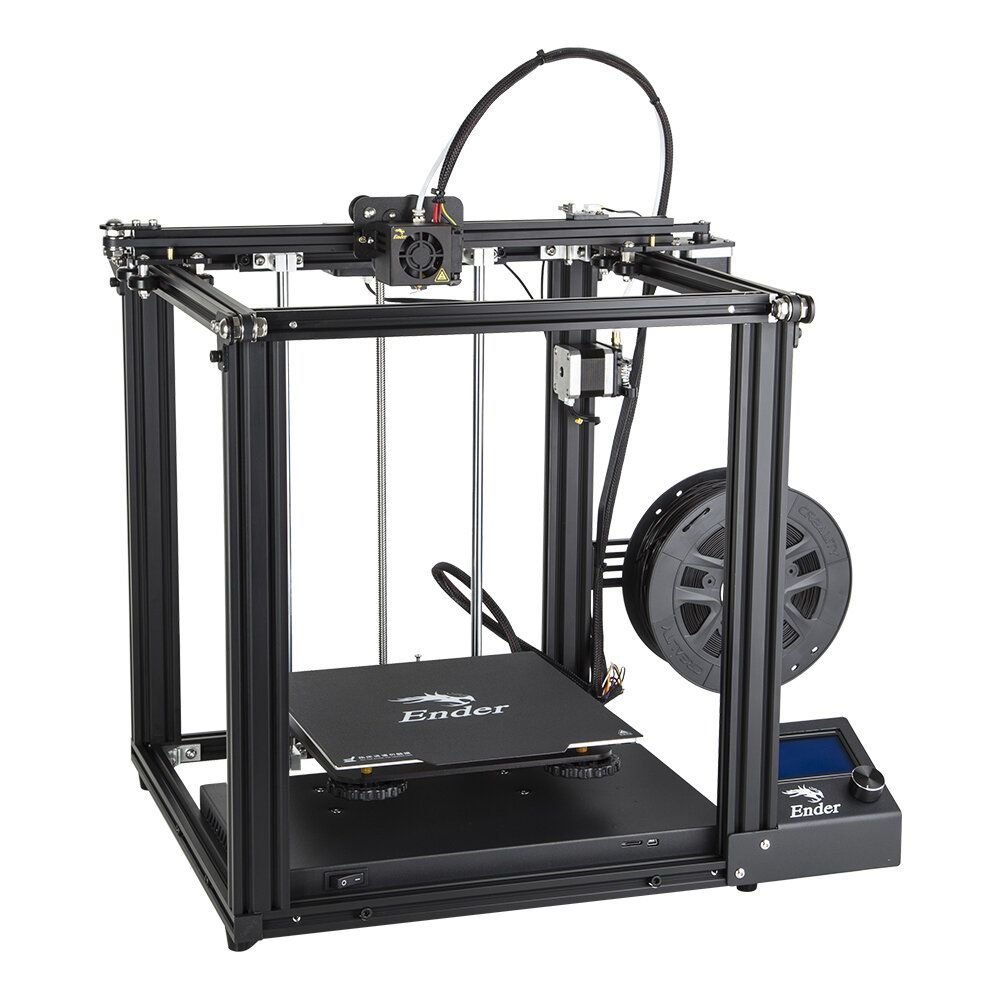 Creality 3D® Ender 5 DIY 3D Printer Kit 220*220*300mm Printing Size With Resume Print Dual Y Axis Motor Soft Magnetic Sticker Support Off line Print