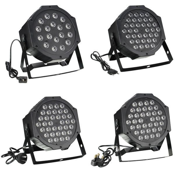 RGB Remote DMX512 Voice Activated 36 LED Stage Light Party Disco KTV Lamp 110 240V