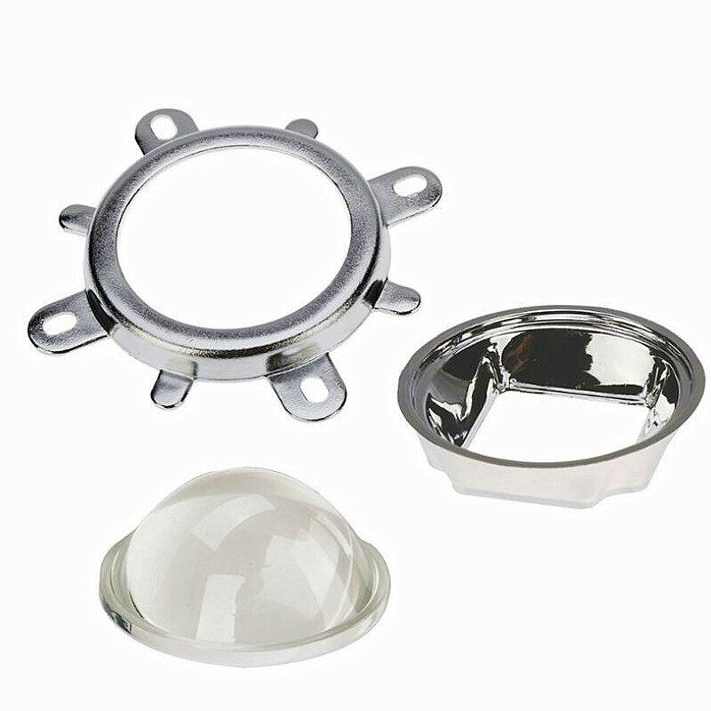 AEN US$4.30 44MM Optical Magnifier 60 degrees/120 degrees High Power LED 20-100W Lamp Lens Plano-convex Lens