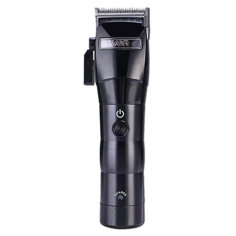 VGR Electric Clipper Charging Shaver Hair Trimmer Hair Cutting Machine Eu Plug V 011