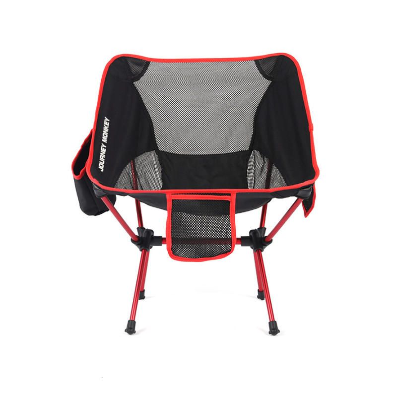 SMT US$36.34 IPRee® Outdoor Portable Folding Chair Ultralight Aluminum Alloy Stool Max Load 120kg Camping Picnic