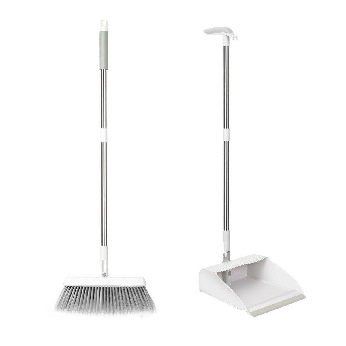 Foldable Automatic Rebound Household Dustpan Broom Brush Set Cleaning Tools Hot