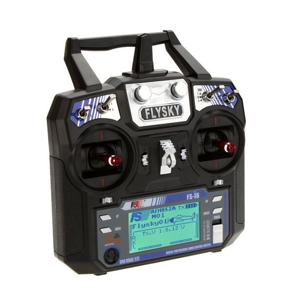 FlySky FS i6 i6 2.4G 6CH AFHDS RC Radio Transmitter Without Receiver for FPV RC Drone