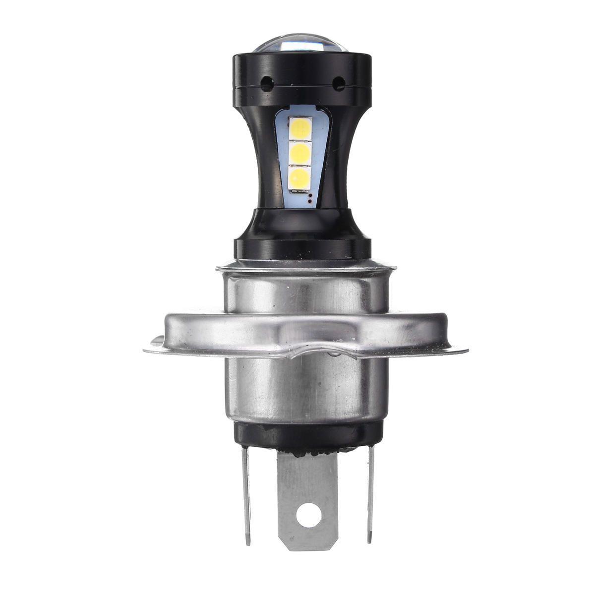 H4 18W 800LM Motorcycle LED Hi Lo Headlight Motor Bike Motor Light Bulb DC12 24V