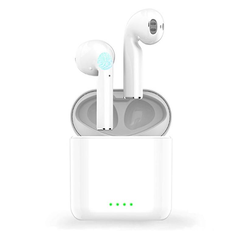 H2 TWS Mini bluetooth 5.0 Earphone Binaural Touch Control Auto Pair Headphones Wireless Handsfree Earbuds In Ear Headset for Huawei Xiaomi Iphone