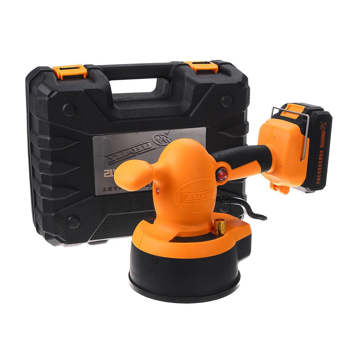 13000mAh Professional Tiling Tool Machine Suction Porcelain Ceramic Floor Grip Handle Electric Floor Vibrator