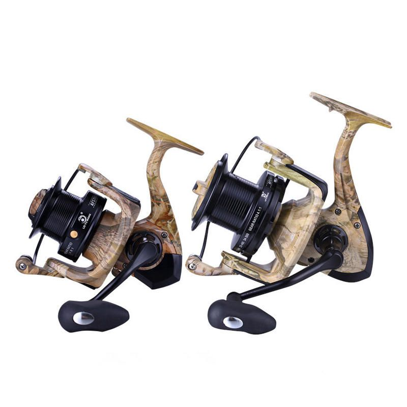 ZANLURE AFS5000 8000 All Metal 4.9/4.1:1 13BB Fishing Reel Carbon Drag Freshwater Spinning Wheel