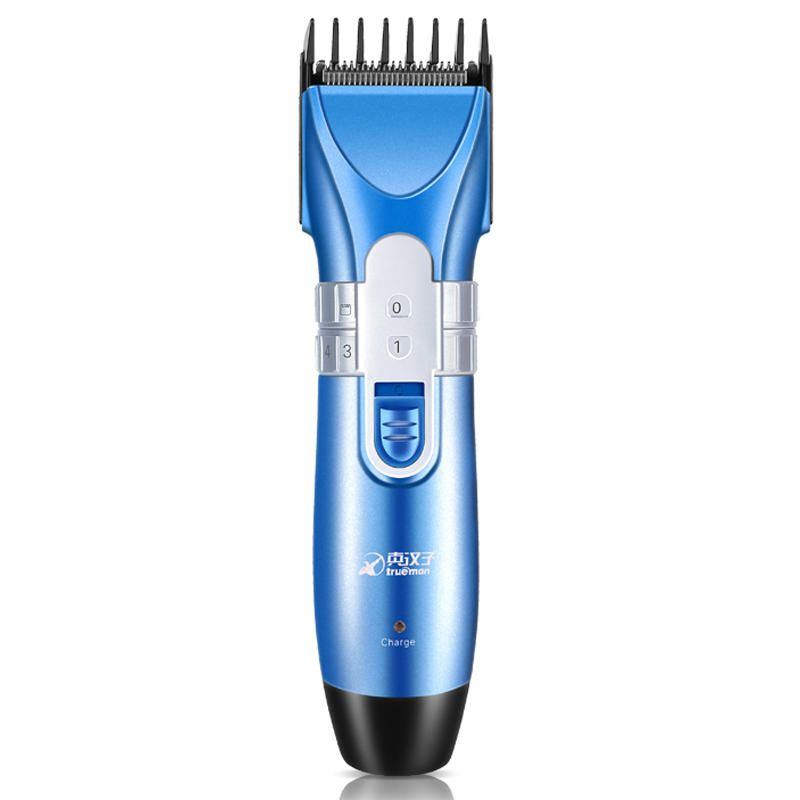 JKC US$36.34 Titanium Haircut Clipper Electric Hair Trimmer Cutting Guide Combs Men Child Grooming Tools 220V