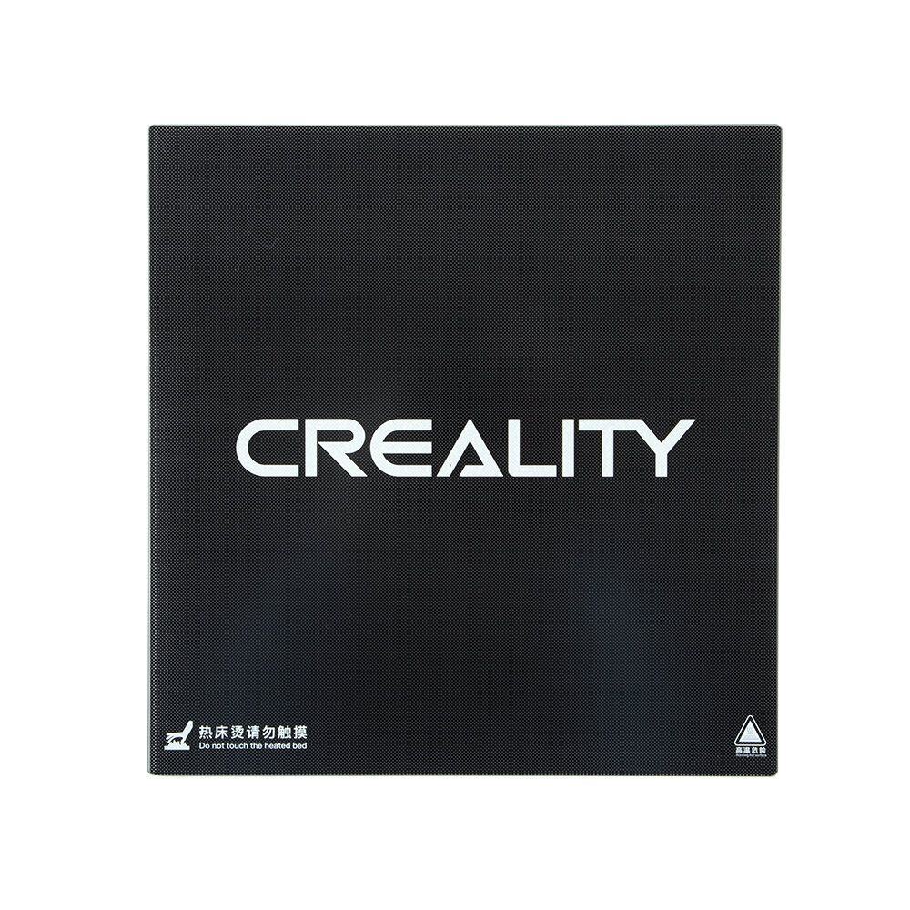 Creality 3D® Ultrabase 310*320*4mm Carbon Silicon Glass Plate Platform Heated Bed Build Surface for CR 10S Pro / CR X MK2 MK3 Hot bed 3D Printer Part