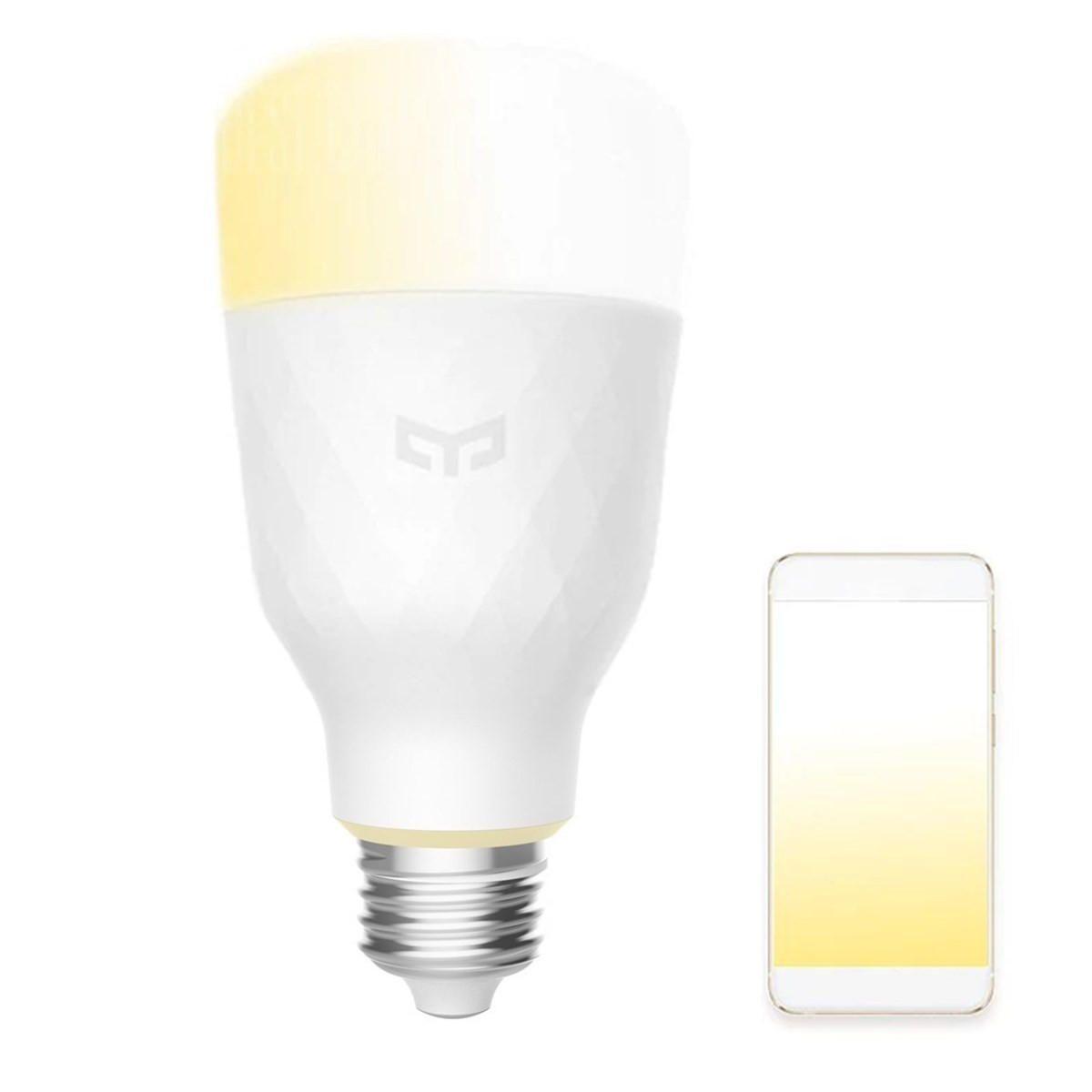 Yeelight YLDP05YL E27 10W Warm White to Daywhite WiFi APP Smart LED Bulb AC100 240V(Xiaomi Ecosystem Product)