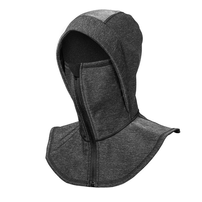 ROCKBROS Bike Hat Windproof Thermal Fleece Headgear Winter Warmer Neck Face Mask Cap Outdoor Bicycle Equipment
