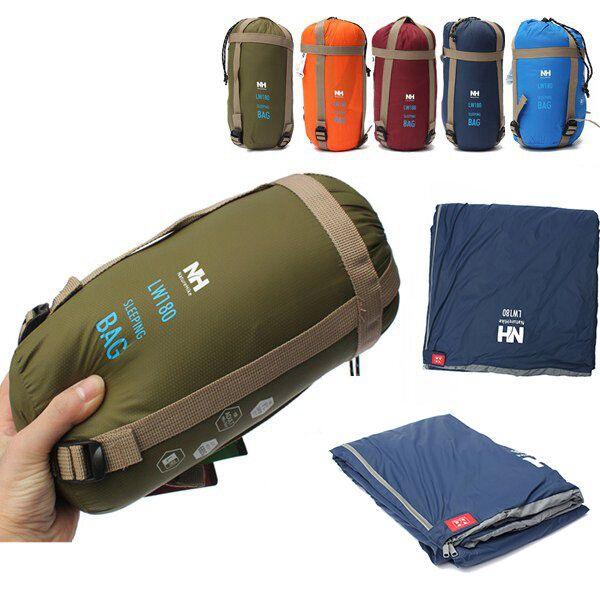 Naturehike NH15S003 D Outdoor Camping Sleeping Bag Ultralight Envelope Bag For Travel Hiking 1.9x0.75m