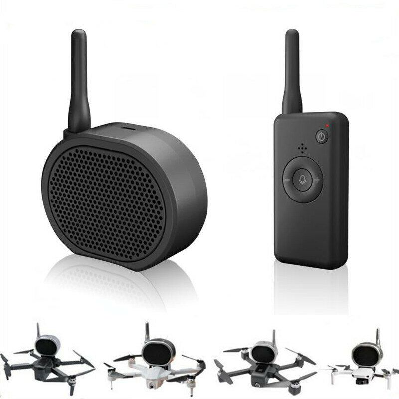 Global Drone M6 Sky Speaker Megaphone Laudspeakers Black for FIMI X8 DJI Phantom Mavic 2 Mavic Air Hubsan ZINO RC Drone Quadcopter