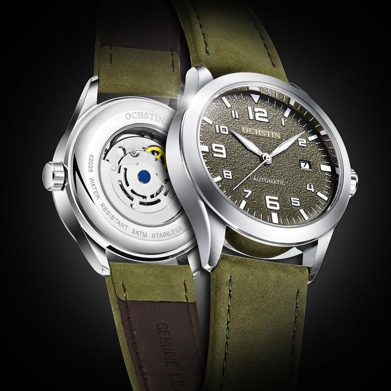 OCHSTIN GA62028 Waterproof Date Display Automatic Mechanical Watch Business Style Men Watch