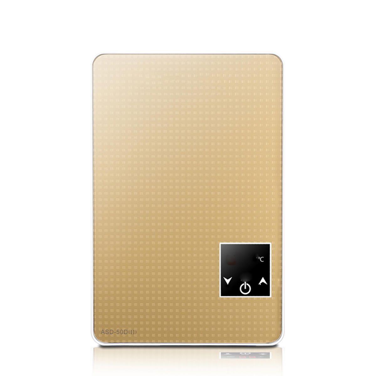 6500W Tankless Instant Electric Hot Water Heater Boiler Bathroom Shower Head Set