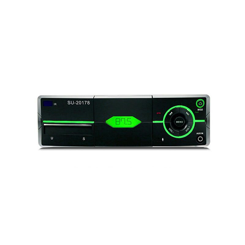 PolarLander Car Audio Stereo bluetooth Stereo Radio 12V FM Car Radio MP3 Player