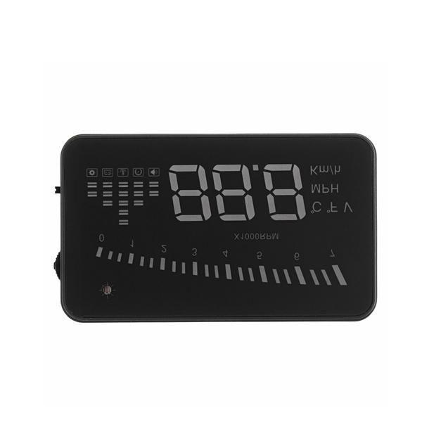 X5 Car Head Up Display OBD2 II HUD Projector Speedometer MPH KM/h Speed Warning