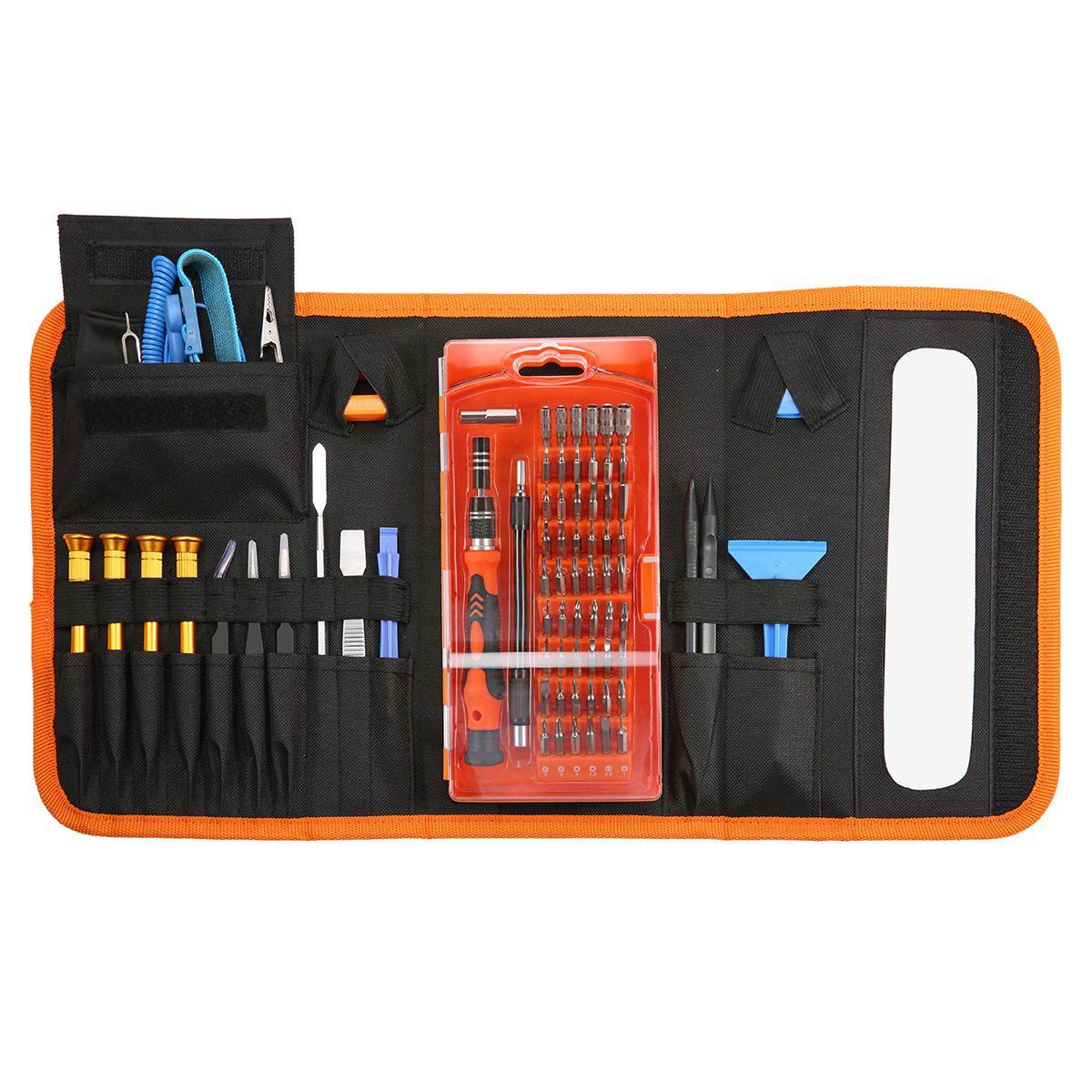 84 In 1 Precision Screwdriver Set Magnetic Repair Tool Kit with Portable Bag