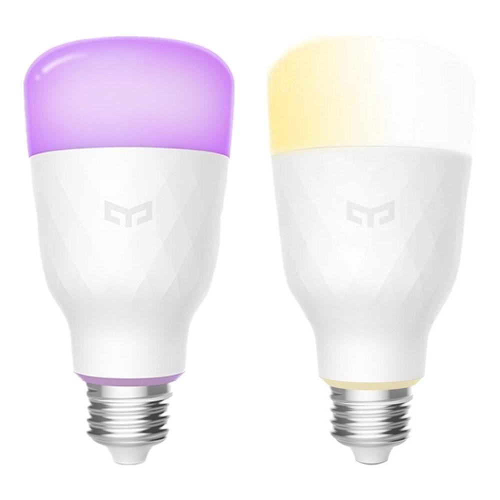 1PC Yeelight YLDP05YL+ 1PC YLDP06YL E27 10W Smart LED Bulb Support Alexa AC100 240V (Xiaomi Ecosystem Product)