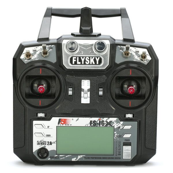 Flysky i6X FS i6X 2.4GHz 10CH AFHDS 2A RC Transmitter With X6B/IA6B/A8S Receiver for FPV RC Drone