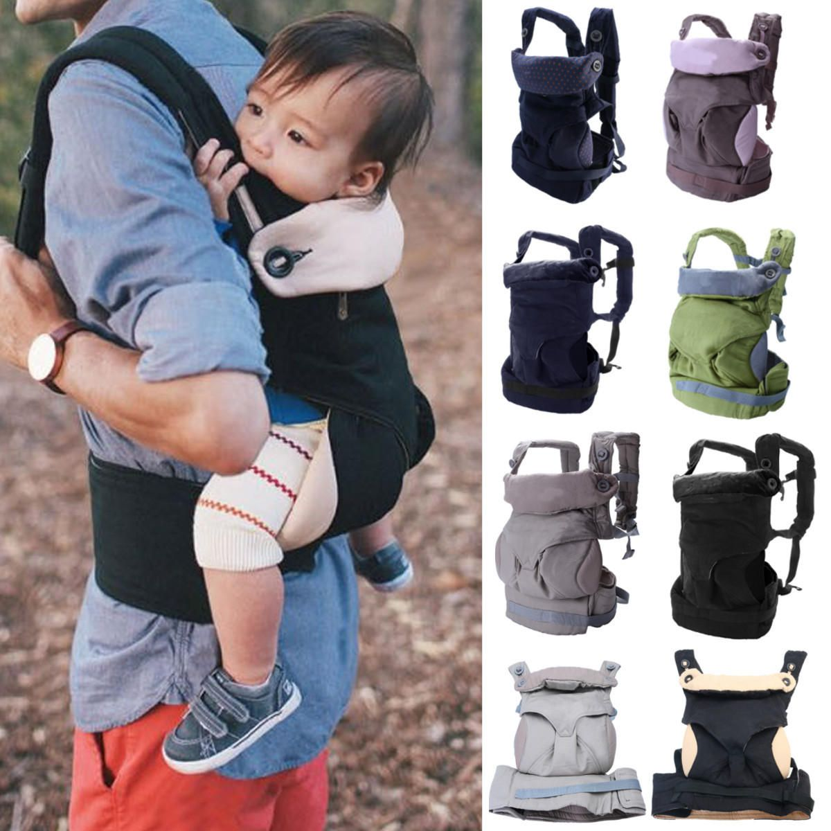 Baby Kids Safety Harness Cotton Walking Rein Carrier Breathable Babys Strap Baby Carriers