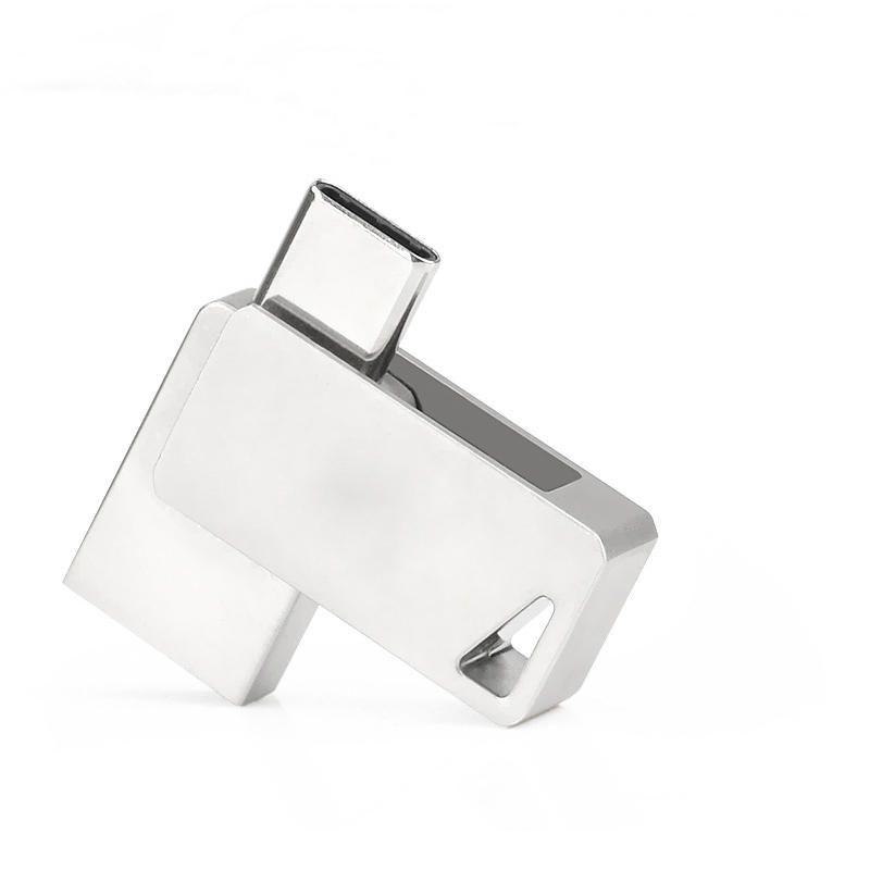 128GB 2 In 1 Type C USB 3.0 OTG U Disk Flash Drive For Laptop Macbook Smart Phone Samsung Xiaomi Huawei