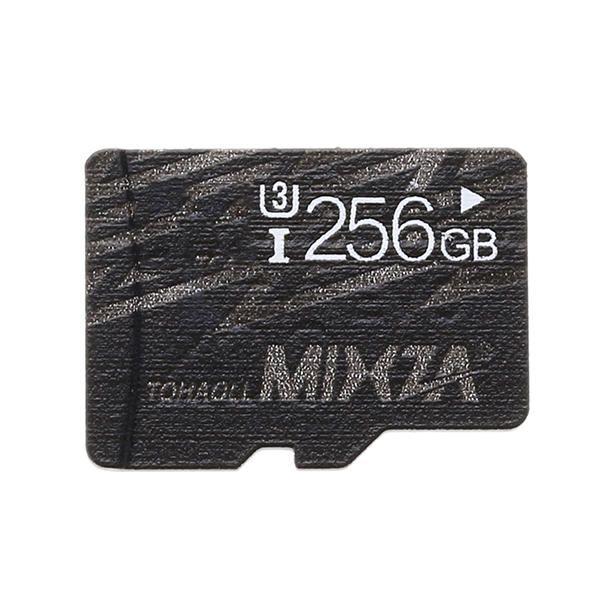 Mixza Cool Edition 256GB U3 Class 10 TF Micro Memory Card for Digital Camera TV Box MP3 Smartphone