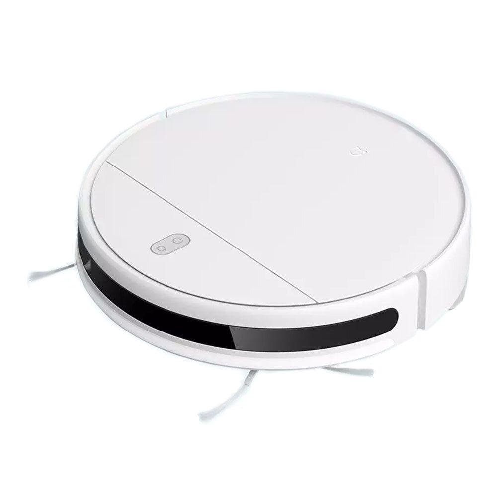 Xiaomi Mijia G1 2 in 1 2200pa Robot Vacuum Mop Vacuum Cleaner Wifi Smart Planned Clean Mi Home APP Smart Control, 4 gear Adjust, 3 Filters, Slim Body