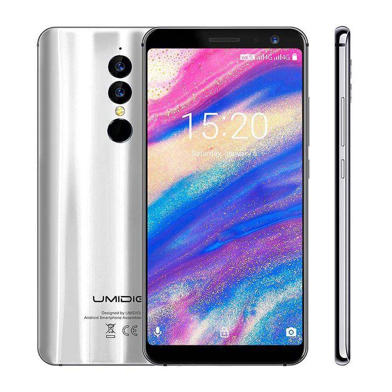 UMIDIGI A1 Pro 5.5 Inch 18:9 Full Screen Android 8.1 3GB RAM 16GB ROM MTK6739 1.5GHz 4G Smartphone