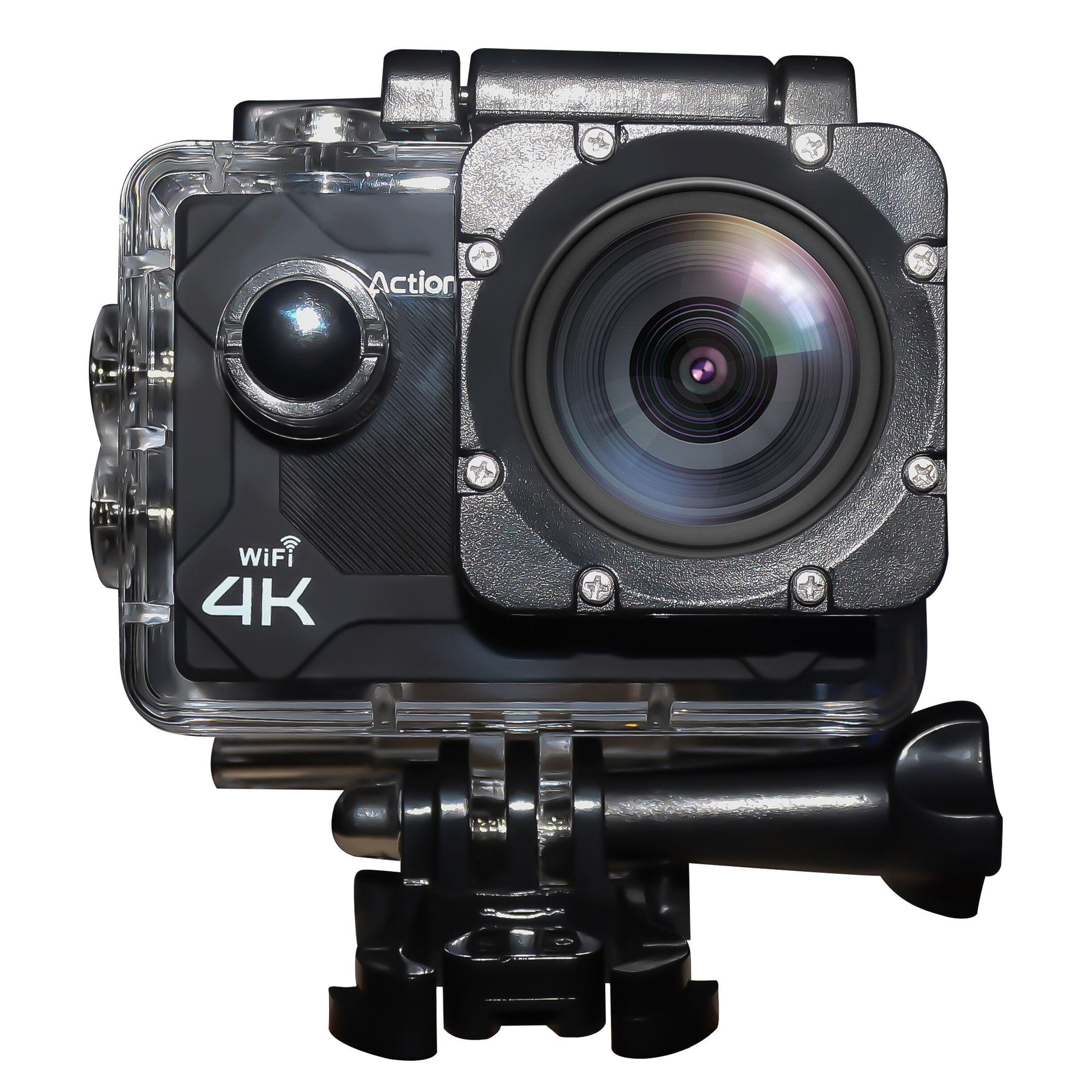 XANES M1 4K WiFi Sport Camera 2 HD Screen Vlog Camera Waterproof DV Video Mini Recorder 170° Wide Angle