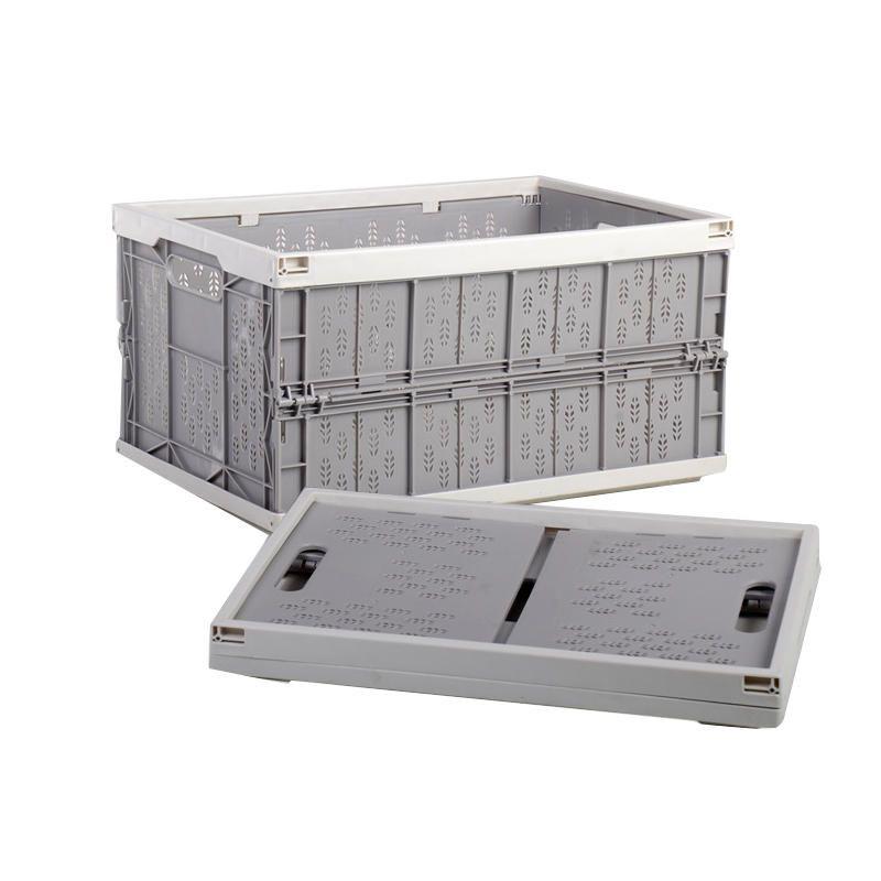 XCJ US$47.10 Minleaf Household Car Foldable Heavy Duty Durable Plastic Storage Box Organizer Basket Water Bucket