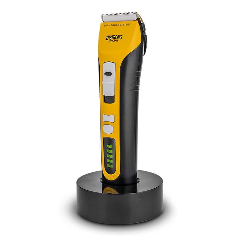 ZPSTRONG LED Display Hair Clipper Trimmer Blade Grooming Titanium Ceramics Safe 110 240V