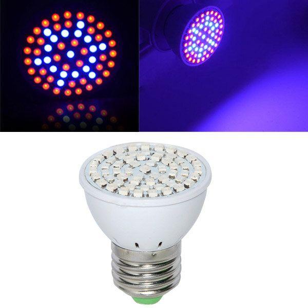 Full Spectrum E27 3W 60 LED Grow Light 41 Red 19 Blue For Plant Hydroponics AC220V