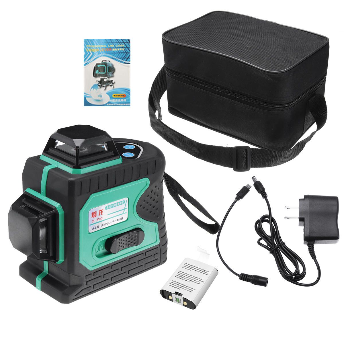 Blue green Light 12 line Outdoor Strong Laser Level Infrared Light High precision Automatic