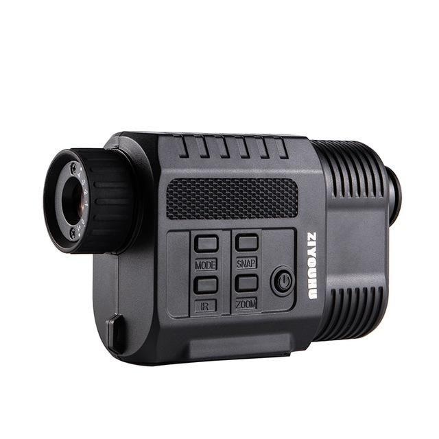 ZIYOUHU 3.5X HD 200m Laser Digital Night Vision Telescope Distance Rangefinder Monocular