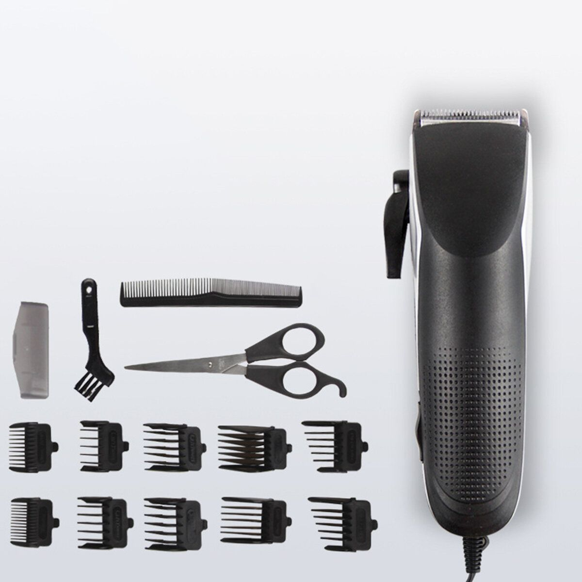 12W Electric Hair Trimmer Clipper Kit Haircut Professional Cutting Machine Tools