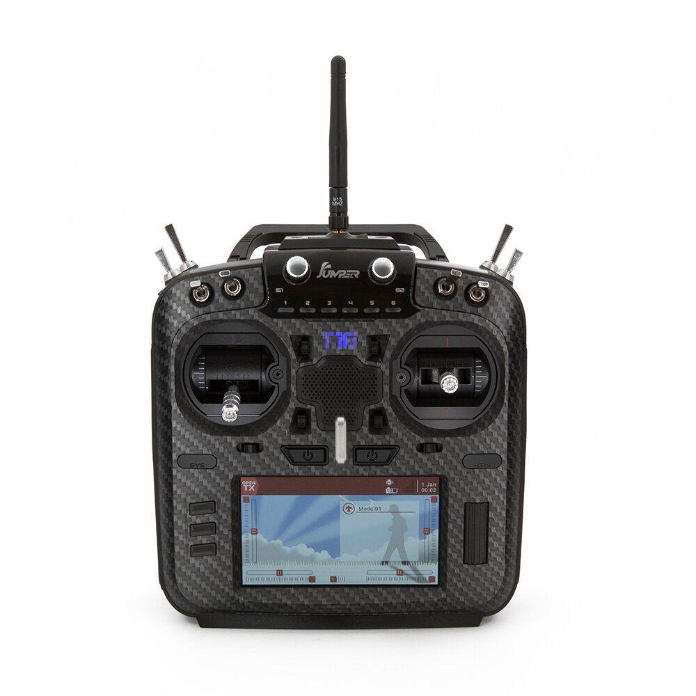 Jumper T18 Pro 2.4G 868/915MHz 16CH RDC90 Sensor Gimbal OpenTX Multi protocol Transmitter JP5IN1 RF Module for RC Drone