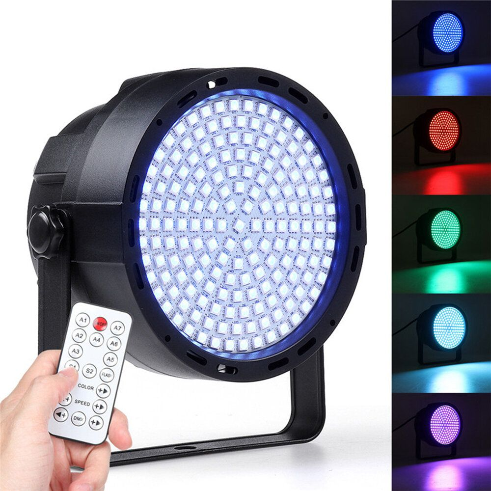 UZT US$31.19 169 LED RGBW Stage 33W  Effect Light Par Lamp Club DJ Party Disco Lighting with Remote Controller