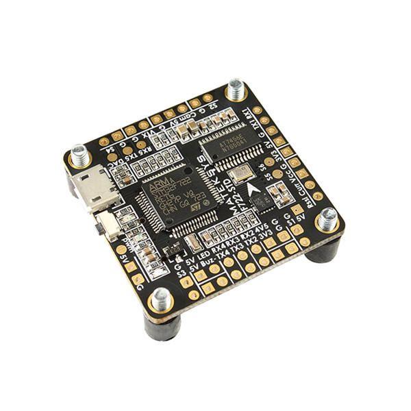 Matek Systems F722 STD STM32F722 F7 Flight Controller Built in OSD BMP280 Barometer Blackbox for RC Drone