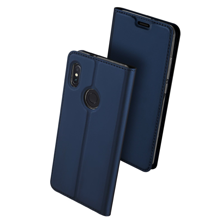 Dux Ducis Flip Magnetic Card Slot PU Leather Protective Case For Xiaomi Mi A2 / Xiaomi Mi 6X