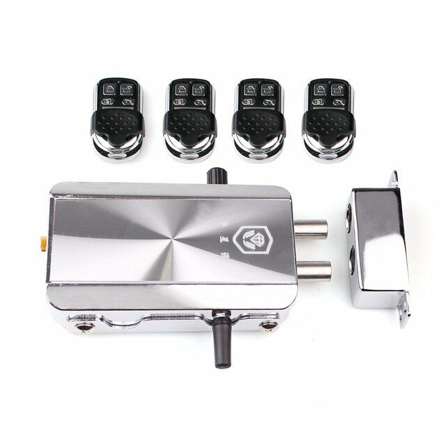ZKA US$75.00 Remote Control Door Lock Wireless Lock Anti-theft Lock Automatically Intelligence Household for Home