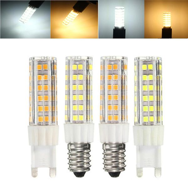 G9/E14 7W 76 SMD 2835 LED Corn Light Bulb for Kitchen Range Hood Chimmey Cooker Fridge 220V