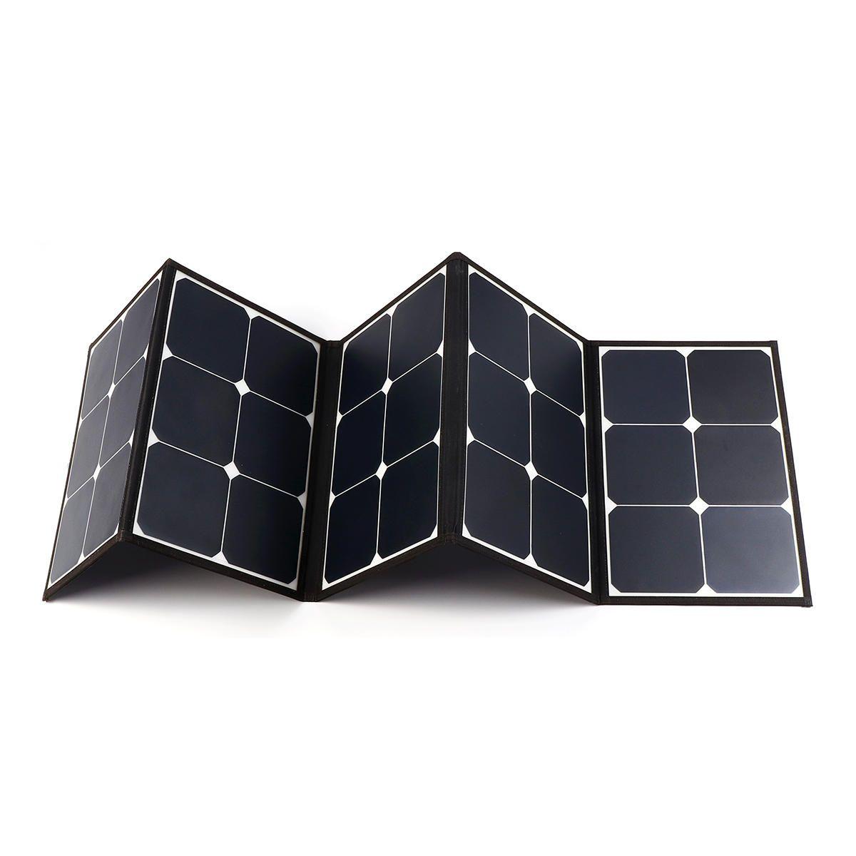 Sunpower Solar Folding Bag With laptop Connector 10PCS DC Charging Line 1PCS Car charger 1PCS Battery Clip 1PCS 6 Carabiner