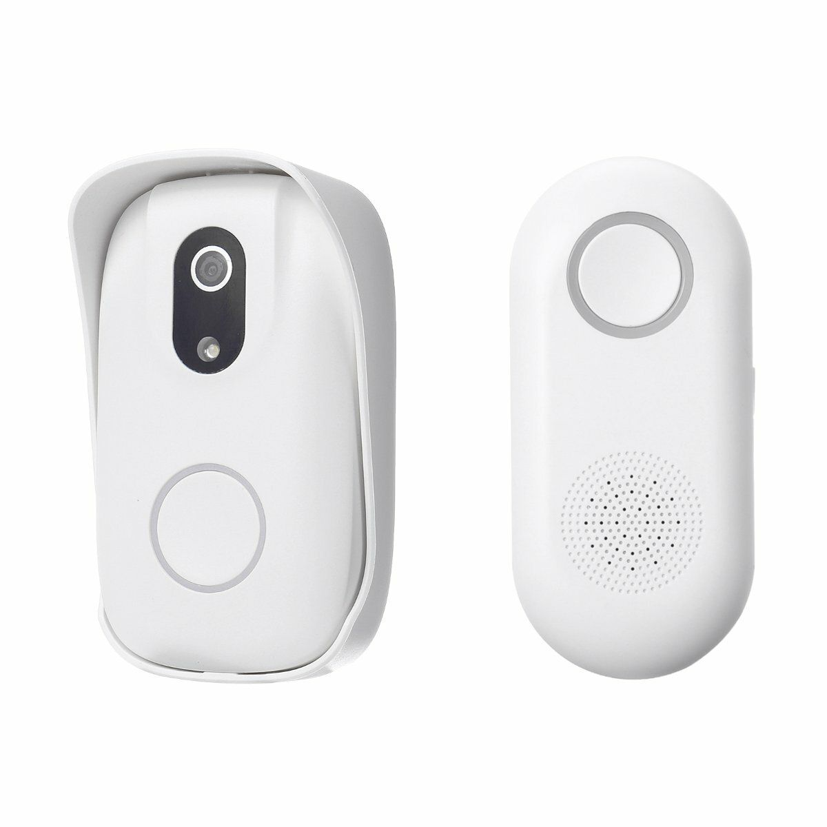 Smart Wireless Doorbell Lens Video HD Security Camera Night Vision App Control